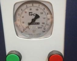 Manometro analógico inflador de neumáticos