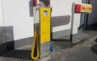Inflador dispensador aire y agua manómetro digital